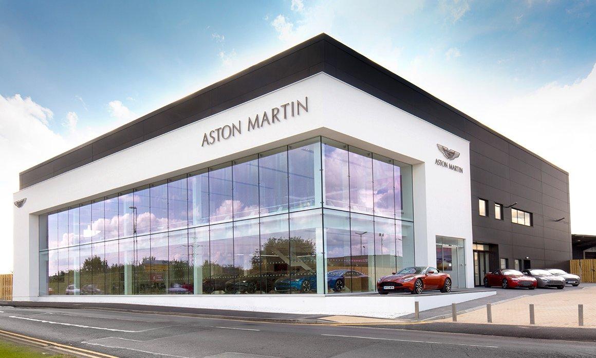 Aston Martin Nottingham Peak Aluminium